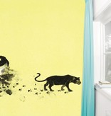 Kek-Amsterdam Black Panther Footprint Wallpaper