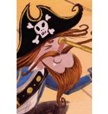 Kek-Amsterdam Pirates WS-010 Behang