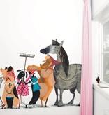 Kek-Amsterdam Animal Parade WS-014 Behang
