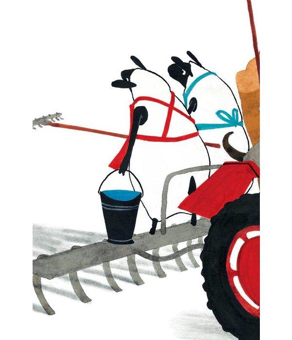 Kek-Amsterdam Tractor Race WS-015 Behang