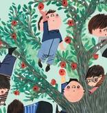 Kek-Amsterdam Apple Tree GREEN Wallpaper