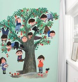Kek-Amsterdam Apple Tree GREEN WS-030 Behang