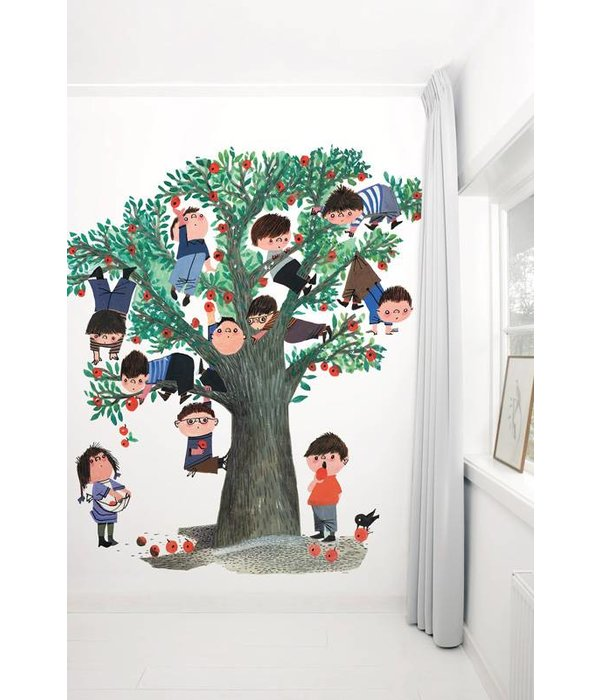 Kek-Amsterdam Apple Tree WHITE WS-031 Behang