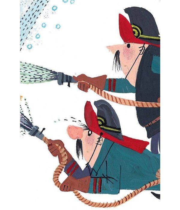Kek-Amsterdam Fire Brigade Wallpaper