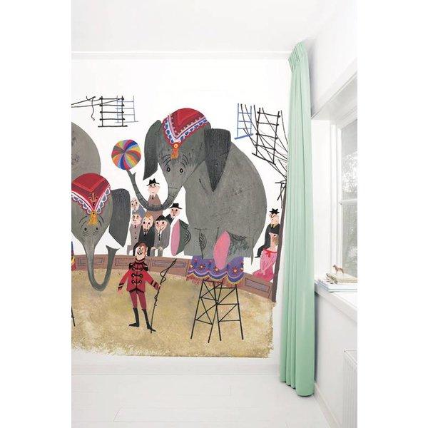 Circus Elephants WS-035