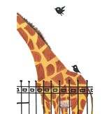 Kek-Amsterdam Giant Giraffe WS-040 Behang