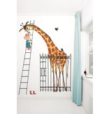 Kek-Amsterdam Giant Giraffe Wallpaper
