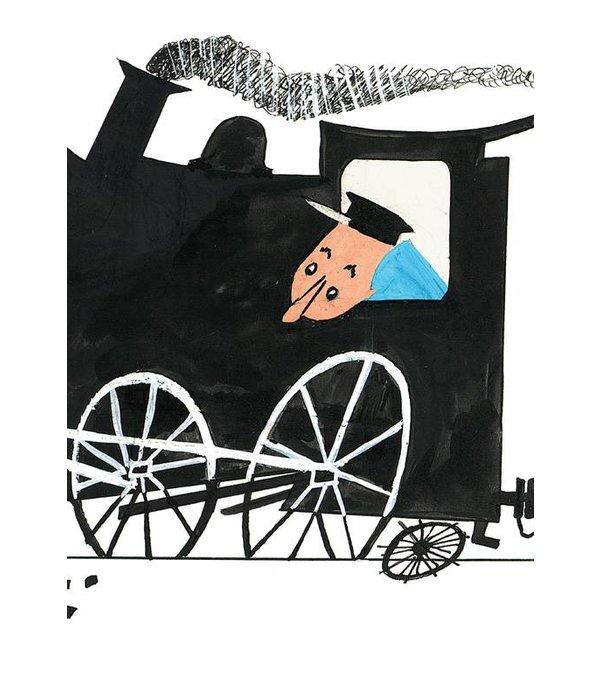 Kek-Amsterdam Black Broken Train Wallpaper