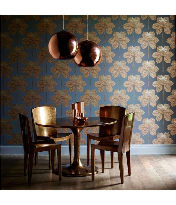 Harlequin Lovers Knot Russet 111229 Wallpaper