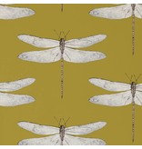 Harlequin Demoiselle Ochre / Grape 111244 Wallpaper
