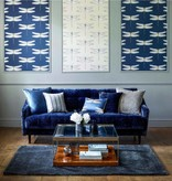 Harlequin Demoiselle Graphite / Almond 111242 Wallpaper
