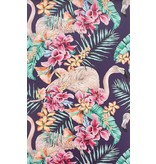 Matthew-Williamson FLAMINGO CLUB Black Multi Color W6800-06 Behang