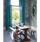 Matthew-Williamson HABANERA Gray Multi Color Wallpaper