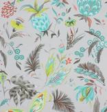 Matthew-Williamson HABANERA Gray Multi Color W6803-01 Behang