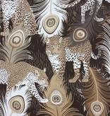 Matthew-Williamson LEOPARDO Brown White Wallpaper
