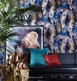 Matthew-Williamson LEOPARDO Rose Light Green Wallpaper