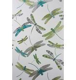 Matthew-Williamson Dragonfly Dance Jade/Kiwi/Grey W6650-01 Behang