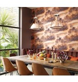 Matthew-Williamson Cocos Fuchsia/Met. Gold Wallpaper
