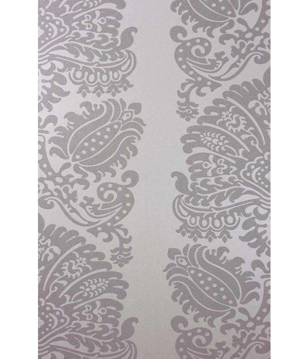 Matthew-Williamson Providencia Metallic Gilver Wallpaper