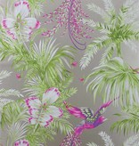 Matthew-Williamson Bird of Paradise Kiwi/Violet Wallpaper