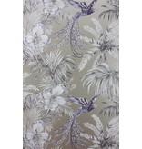 Matthew-Williamson Bird of Paradise Blue/Grey Wallpaper