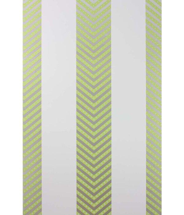 Matthew-Williamson Nevis Kiwi/Ivory Wallpaper