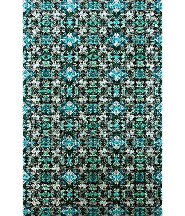 Matthew-Williamson Mustique Jade/Turquoise Wallpaper