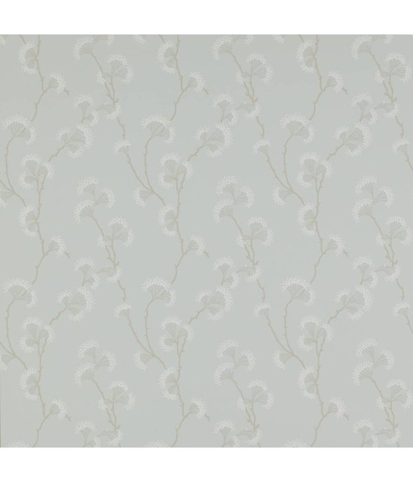 Colefax-Fowler Ashbury Old Blue Wallpaper