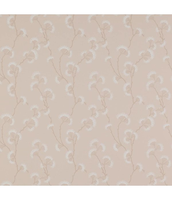 Colefax-Fowler Ashbury Pink Wallpaper
