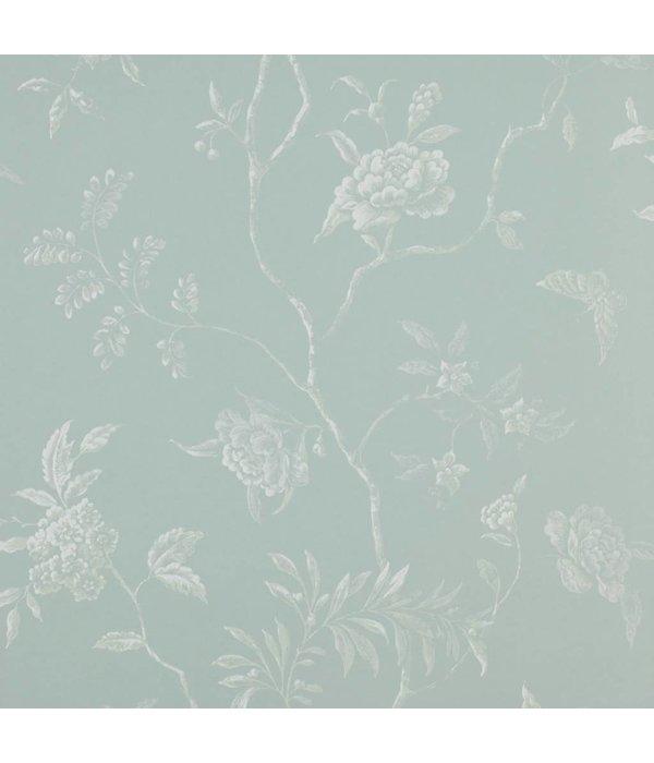 Colefax-Fowler Delancey Aqua Wallpaper