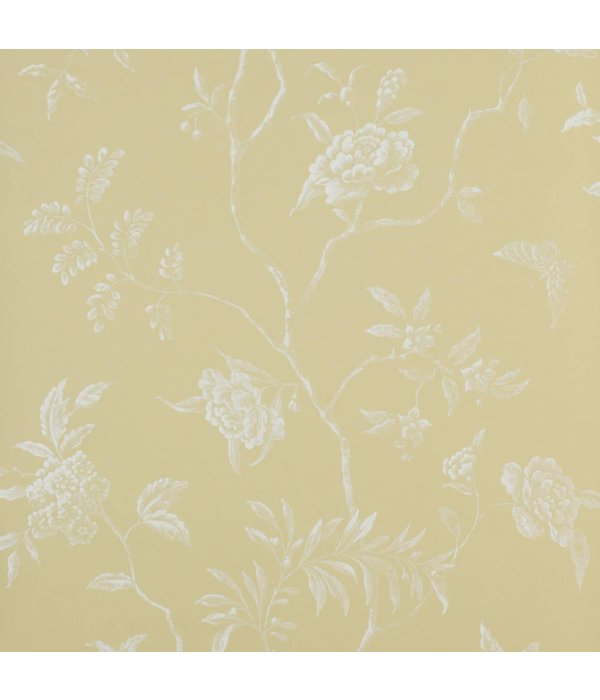 Colefax-Fowler Delancey Yellow Wallpaper