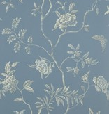 Colefax-Fowler Delancey Blue Wallpaper