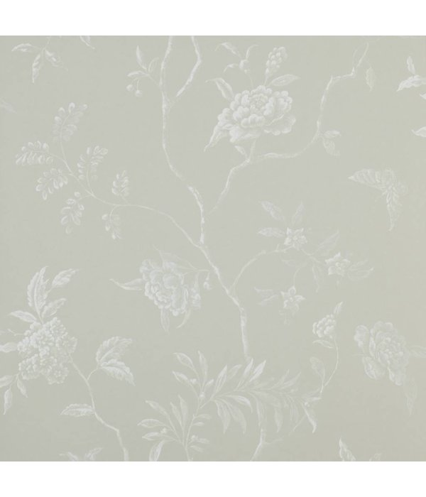 Colefax-Fowler Delancey Silver Wallpaper