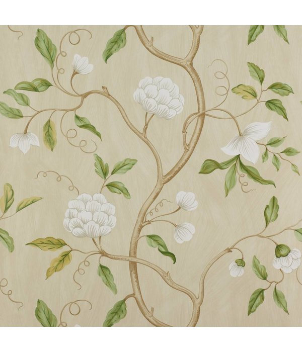 Colefax-Fowler Snow Tree Cream Wallpaper