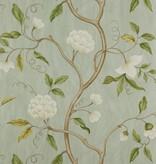 Colefax-Fowler Snow Tree Aqua Wallpaper