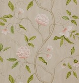 Colefax-Fowler Snow Tree Pink/Green Wallpaper