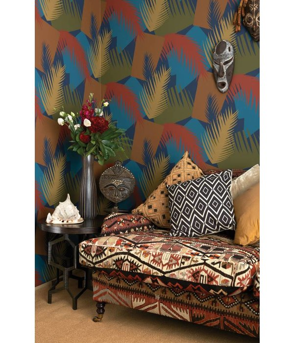 Cole-Son Deco Palm 105/8036 Wallpaper