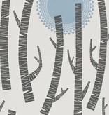 Miss-Print Woods Wallpaper Tokyo MISP1150