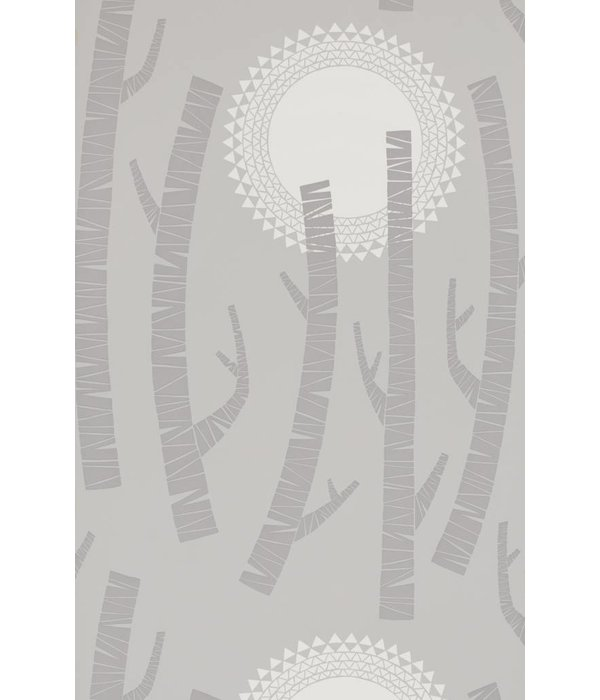 Miss-Print Woods Wallpaper Haze MISP1152