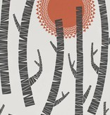 Miss-Print Woods Wallpaper Aztec MISP1155