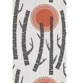 Miss-Print Woods Wallpaper Aztec MISP1155