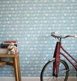 Miss-Print Allsorts Wallpaper Coral MISP1160