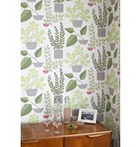 Miss-Print House Plants Wallpaper Marina MISP1178