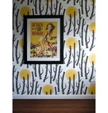Miss-Print Woods Wallpaper Miss Penelope MISP1154