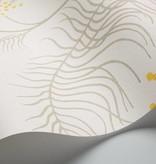 Cole-Son Mimosa Wit, Grijs En Geel 69/8132 Wallpaper