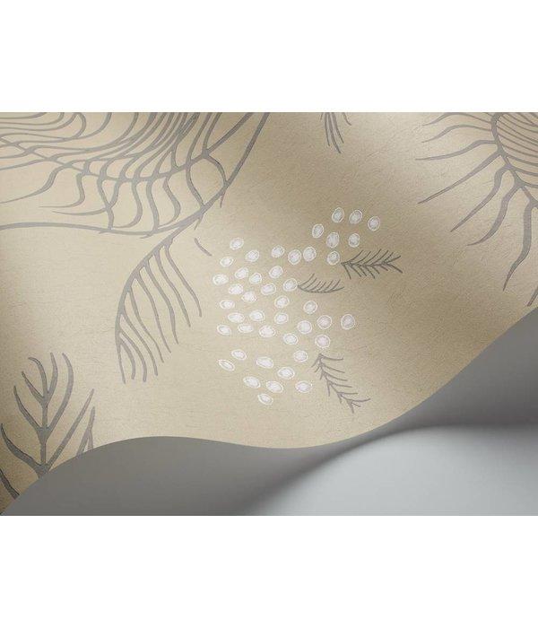 Cole-Son Mimosa Grijs, Donkergrijs En Wit 69/8131 Wallpaper
