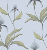 Cole-Son Orchid Lichtblauw En Turquoise 66/4026 Behang