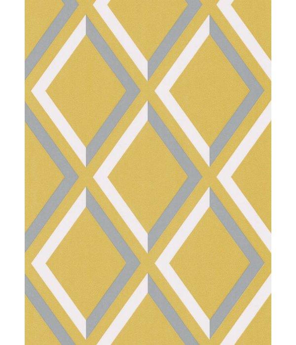 Cole-Son Pompeian Groen En Blauw / Grijs 66/3018 Wallpaper