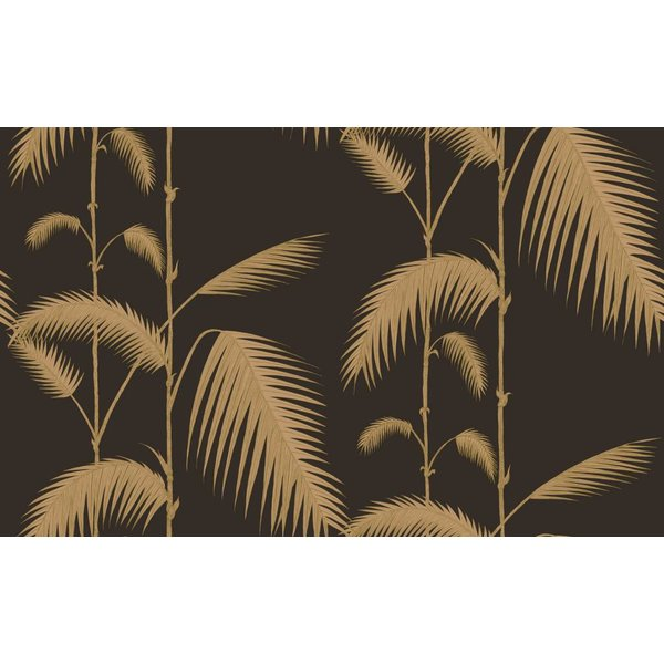 Palm Leaves Zwart En Goud 66/2014
