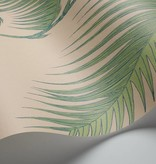 Cole-Son Palm Leaves Bruin En Groen 66/2011 Wallpaper